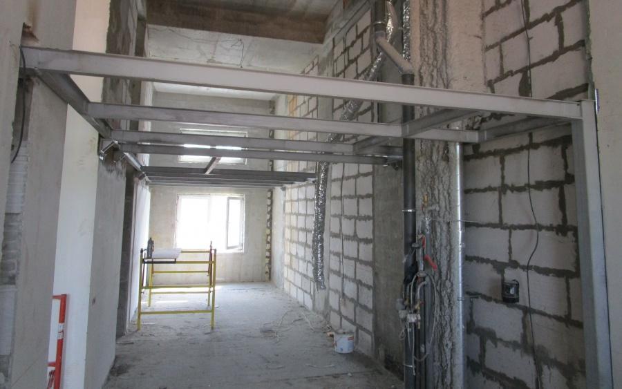 Общая площадь перекрытия - 48 кв. м