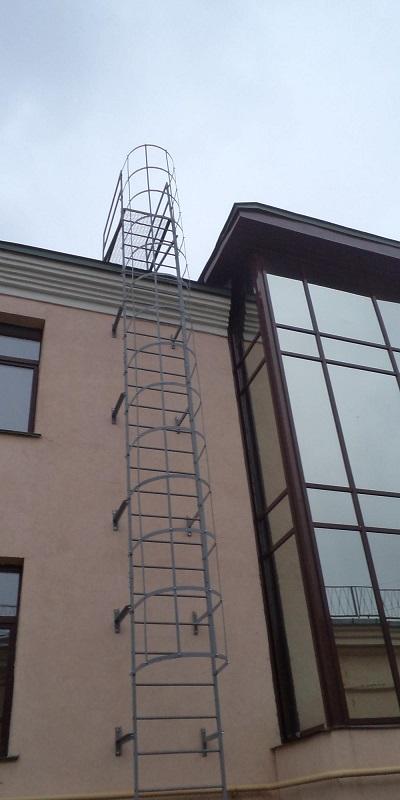 пожарную лестницу типа П1