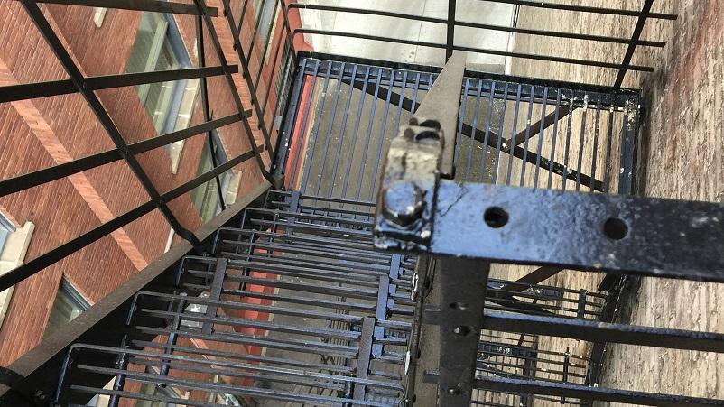 Проектирование, монтаж, ремонт, покраска пожарных лестниц.
